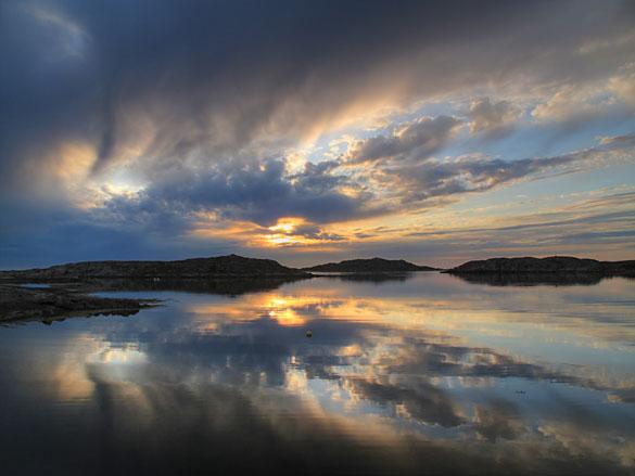 valo-solnedgang